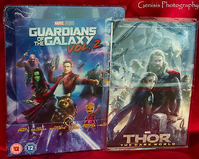 Guardians Of The Galaxy Vol.2 3D / Blu-Ray Zavvi Lenticular Caja Metálica + Art