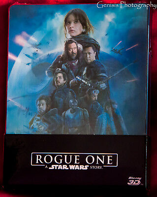 Rogue One : a Star Wars Story Lenticular Caja Metálica -blu-ray 3D + Blu-Ray (3