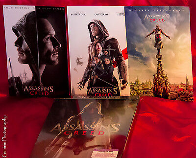 Assassins Creed 4K Ultra HD Blu-Ray Exclusivo Lenticular Caja Metálica + Art