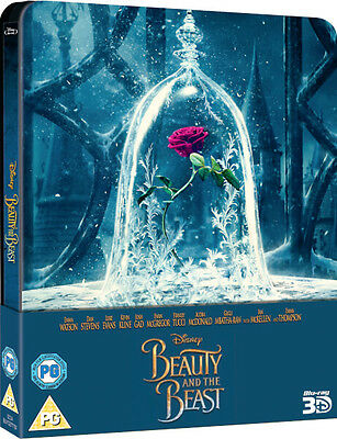 Beauty And The Beast - Zavvi Edición Limitada Caja Metálica (Blu-Ray 2D/3D,2017)