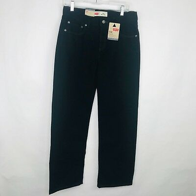 Levis Boys 550 Relaxed Fit Jeans Tapered Leg Size 18 29x29