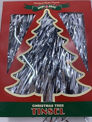 Christopher Radko Tinsel, Shiny Brite Tinsel, Tinsel