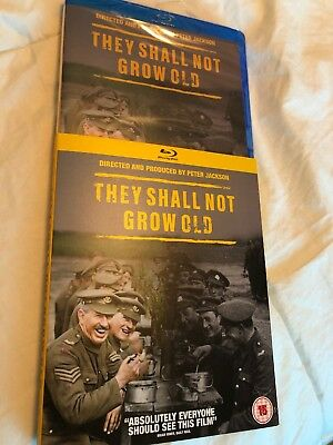 They Shall Not Grow Old 2018 Bluray Region Free Peter Jackson 2018