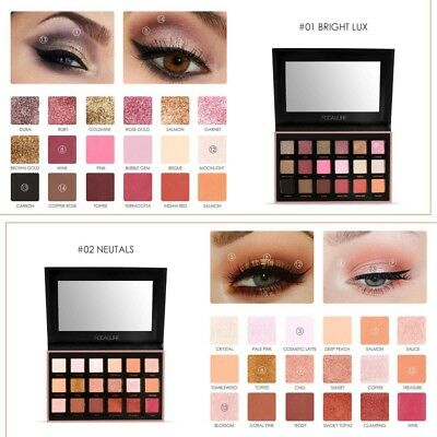 18 Color Cosmetic Matte Eyeshadow Cream Eye Shadow Makeup Palette Shimmer Set