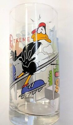 Looney Tunes Collectible IXL X-Treme Sports Glass Circa 2000