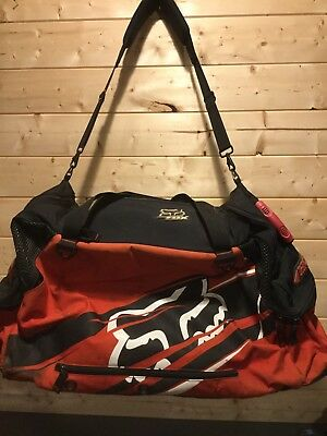 Fox Racing Vintage Honda Large Gear Bag The Red Motocross Dirt Bike Large