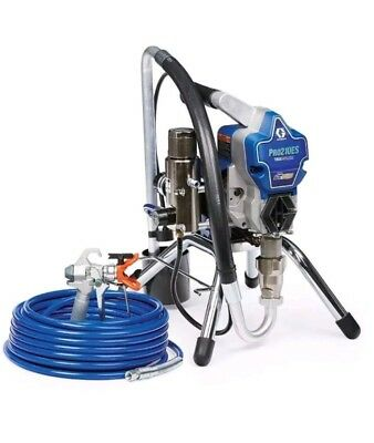 Graco Pro210ES Airless Paint Sprayer Fully Adjustable Pressure ProConnect System