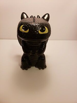Toothless, How To Train Your Dragon, Ceramic Bank/Piggy Bank/Dreamworks