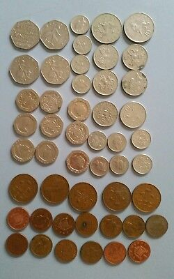 England bulk Lot of Coins. English British Collectable Bulk Lot of Coins.
