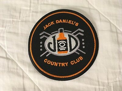 Jack Daniels Country Club patch, this was a gift with purchase of Sinatra bottle