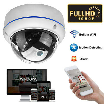 Home HD 1080P POE IP Camera Outdoor IR Night Vision Speed Dome CCTV Security