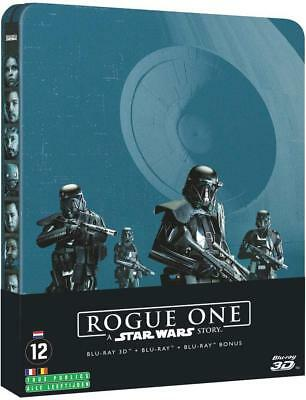 Rogue One: a Star Wars Story Steelbook -blu-ray 3d + Blu-Ray (3 Dischi)