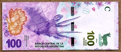 Argentina UNC Note 100 pesos ND 2018 P-NEW