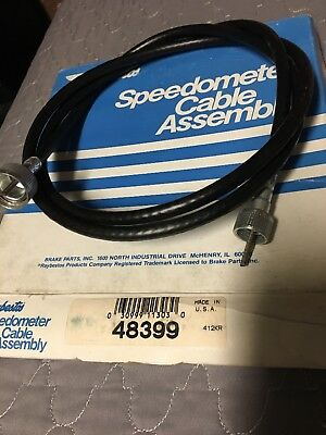 """Raybestos Speedometer Cable 48399. 64"""" Long"""