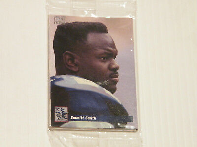 "VINTAGE PRO SET POWER 1993  ""EMMITT SMITH""  (Cards #PS1 to PS10) - 10 card set"