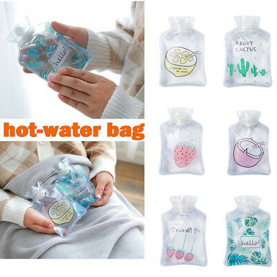 Cute Hand Warm Hot Water Bottles Mini Portable Hand Warmer Water Injection Bags