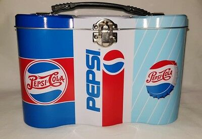 Pepsi Cola  Colectible Six Pack Cooler Blue New Condition With Vintage Logo