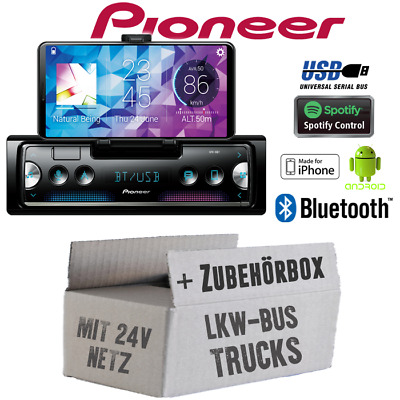 Pioneer Radio per Bus Camion Camion 24V Bluetooth Spotify Android Iphone