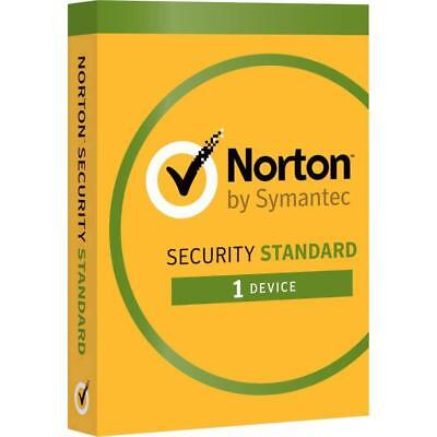 Norton Security Standard 2019, 1 Year, 1 Device, World Wide, email Delivery!!