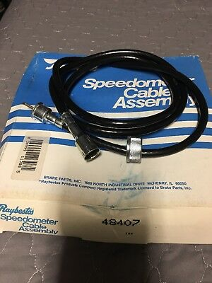 "Raybestos 48407 Speedometer Cable - 58"" long"