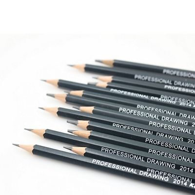 14PC/SET 6H-12B SKETCH Drawing Pencil Sketching Pencils for Artists