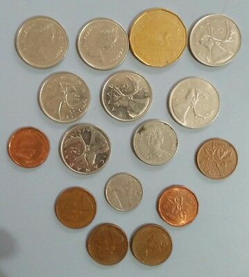 Canadian Coins. Mixed Bulk Lot of Collectable  Canadian Coins.