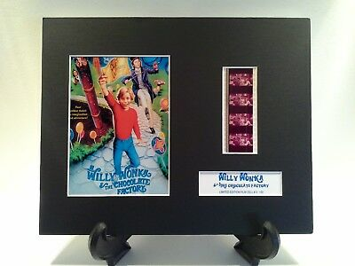 Willy Wonka & the Chocolate Factory Limited Edition Mounted 35mm Film Cell #5