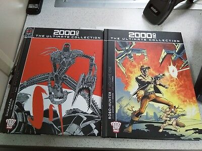 2000AD Ultimate Collection Shakara and Robo-Hunter vol 1