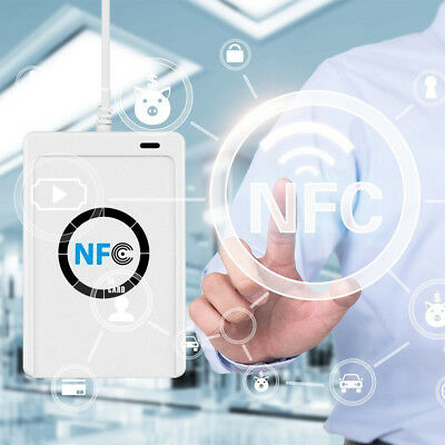 NFC ACR122U RFID Contactless Smart Card Reader & Writer USB with Mifare IC Card