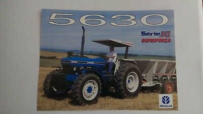 New Holland 5630 tractor brochure Ford Brazil
