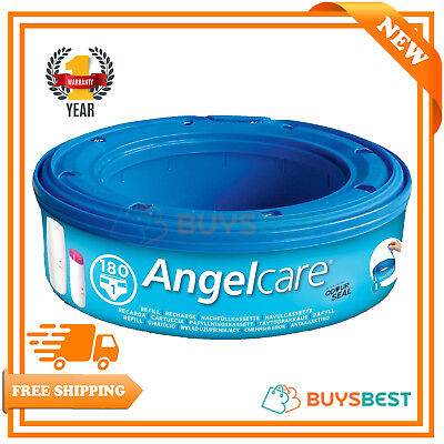 Angelcare Nappy Disposal System Refill Cassettes - Available In Multi-Pack