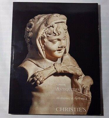 Christies Catalogue Antiquities Apr14 Greek Roman Egyptian + London