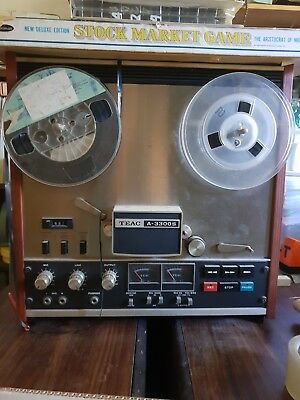 TEAC A-3300S Reel to Reel Tape Recorder