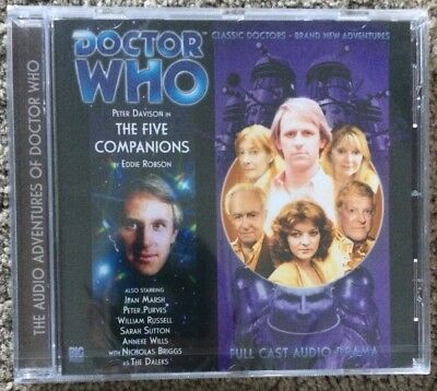 Doctor Who The Five Companions Big Finish