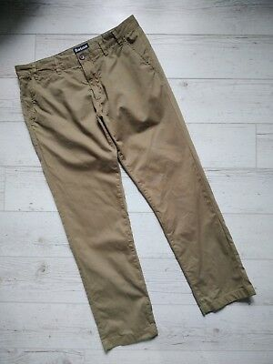 Barbour South Shields Herren Chino Euston Garment Dyed Hose W38 L32 Olive