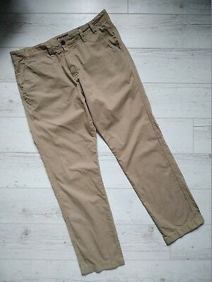 Barbour South Shields Herren Hose Chino Euston Peached Twill W38 L32 Beige