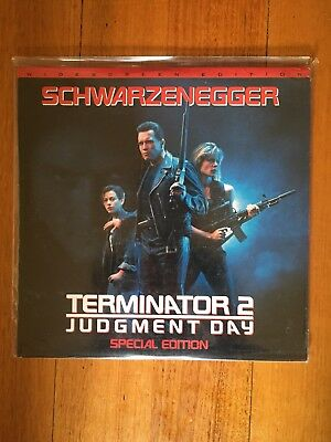 Laserdisc Terminator 2 Judgement Day SPECIAL EDITION + Letter