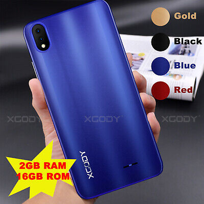 "P20 5.5"" Unlocked 16GB 2GB RAM Android Dual Sim Mobile Smart Phone 4Core Phablet"