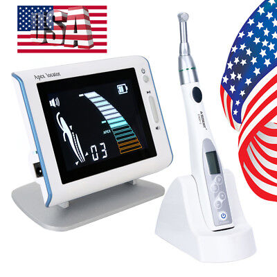 US Dental Endodontic Root Apex Locator DPEX III + 16:1 Mini Endo Motor Handpiece