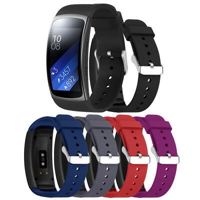 Replacement Silicone Strap Band For Samsung Gear Fit 2 Pro Smart Watch Bracelets