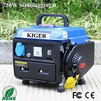 KIGER Professional Generator Petrol Home Use 750w Small Gasoline Generator 230 V