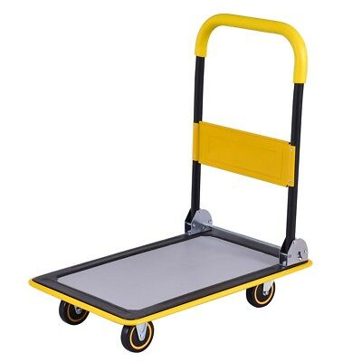 Factory Home 330 lbs/660 lbs Folding Platform Cart Dolly Hand Truck 2 Size US