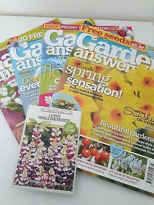 Garden Answers Magazines Dec 18 To Feb 19. New.