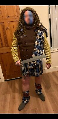mens Braveheart (william wallace complete costume)