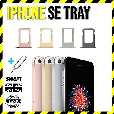 NEW Replacement Sim Card Tray Slot Holder Part For Apple iPhone SE - All Colours