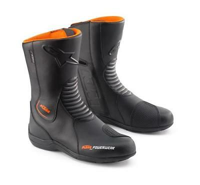 KTM Alpinestars Andes Waterproof Black Leather Touring Boot New RRP £141.54!!
