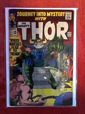 JOURNEY INTO MYSTERY #122 Marvel Silver Age Comic Thor Odin Absorbing Man 1965
