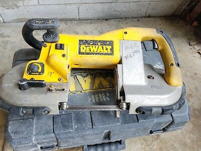 Dewalt D28770 Heavy Duty Deep Cut Variable Speed Band Saw W/Case