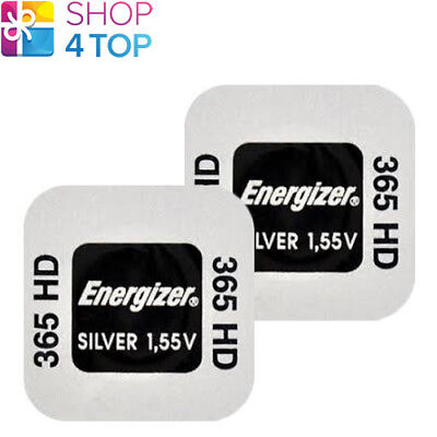 2 Energizer 365Hd Sr1116Sw Batteries Silver 1.55V Watch Battery Exp 2023 New