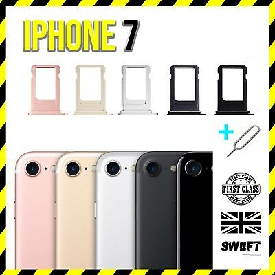 NEW SIM iPhone 7 Sim Tray Card Replacement Tray Sim Holder Slot -  Ejector Tool